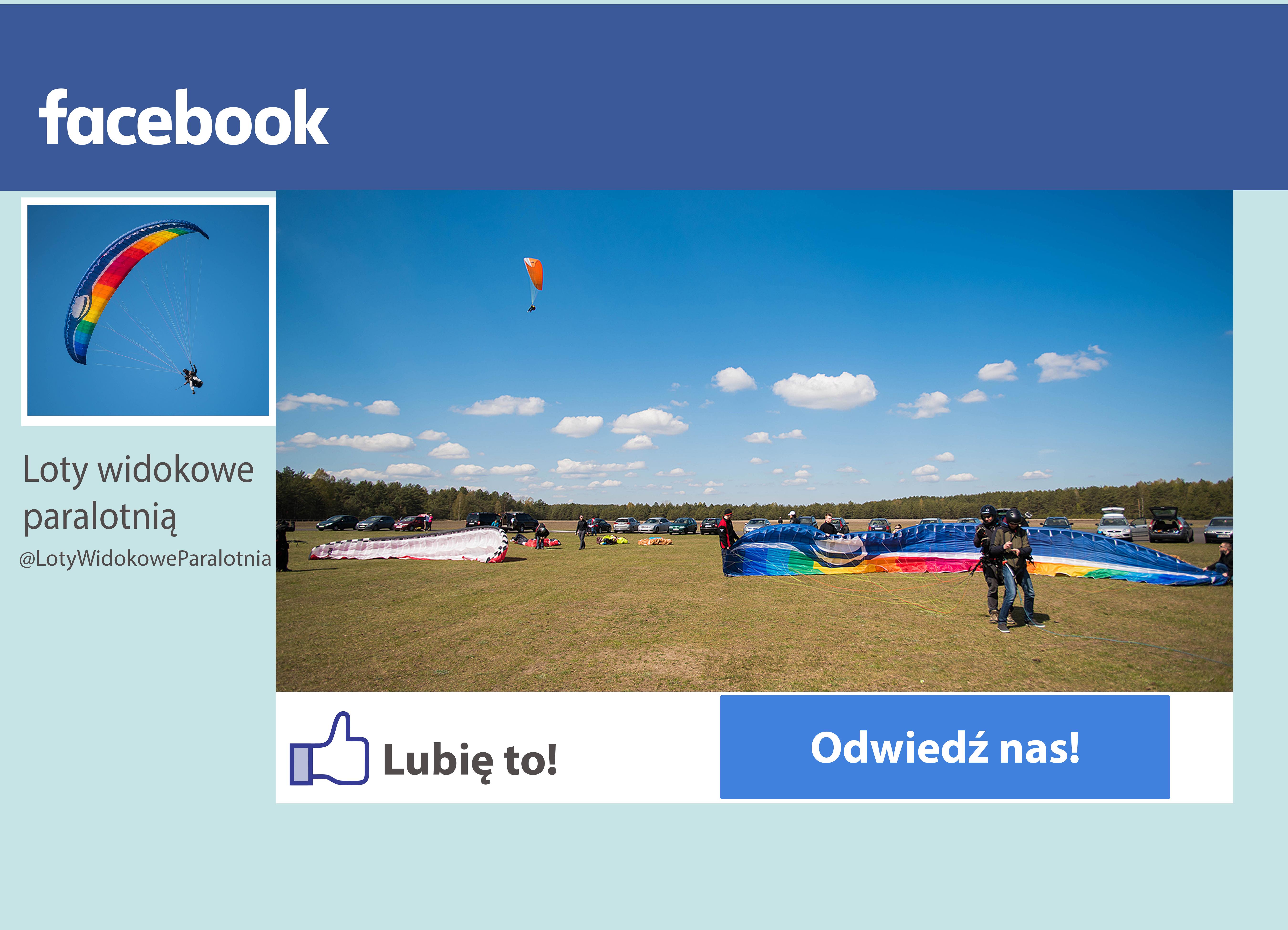 Facebook Loty Widokowe Paralotnią